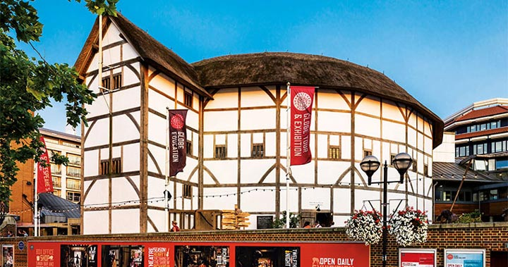 Shakespeare's famous Globe Theater gets a modern take with shipping containers