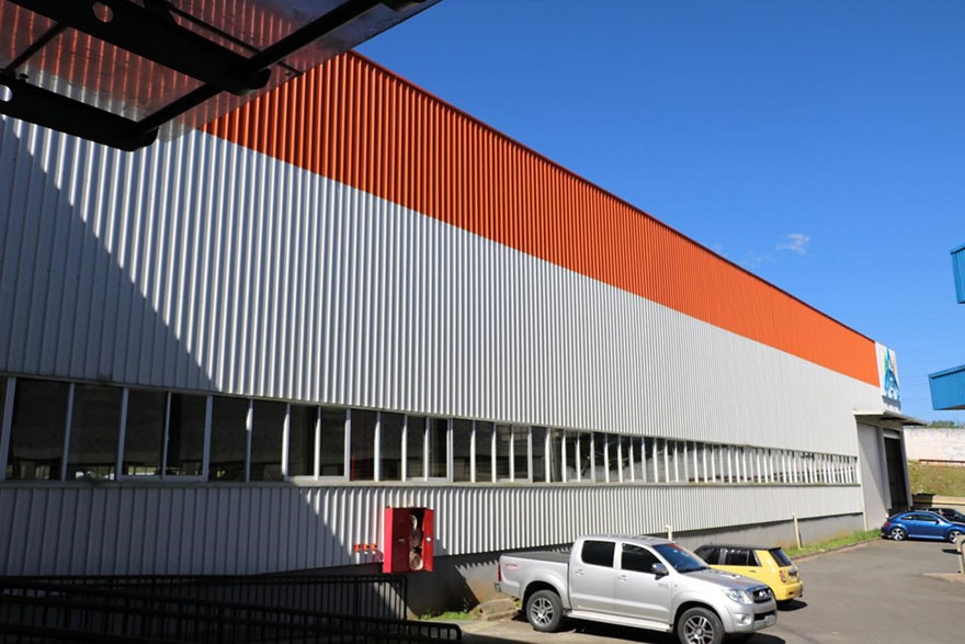 The steel structure factory of PTH Brazil