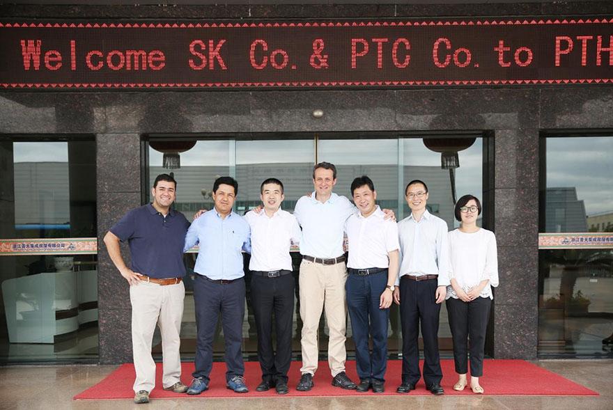 PTH Business visit