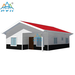Light Steel Villa layout 80 square meter (3 bedrooms and 1 washroom)