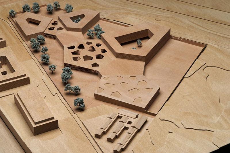 model of school building
