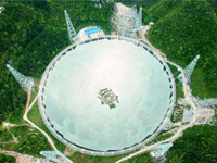 The World's Largest Single-aperture Radio Telescope—Amazing Steel Structure System