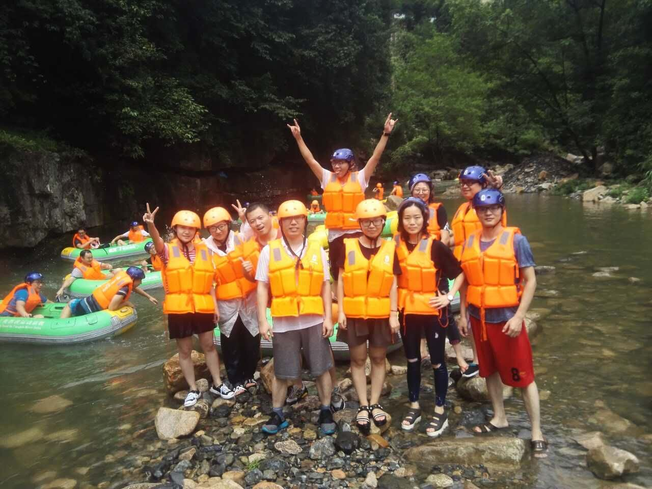 Zhejiang Putian Integrated Housing Co., Ltd. Year's team building activities
