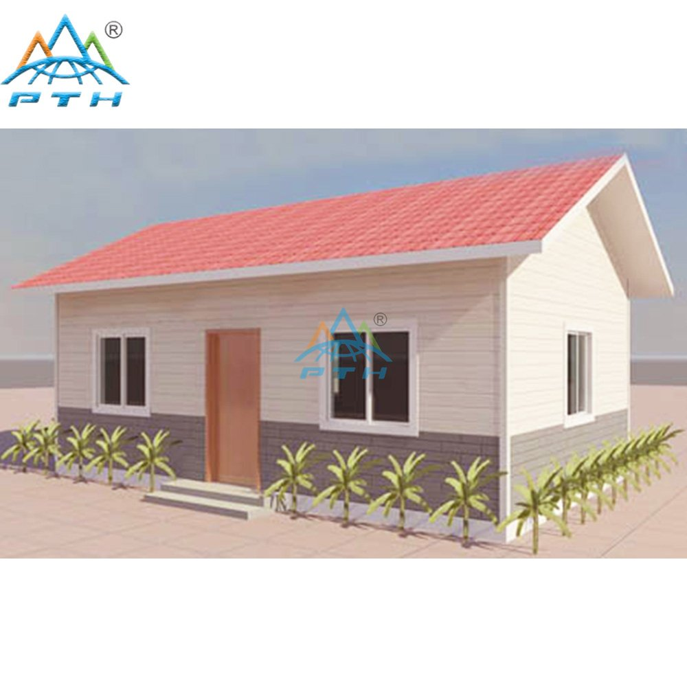 Light Steel Villa 40 square meter (2 bedrooms and 1 washroom)