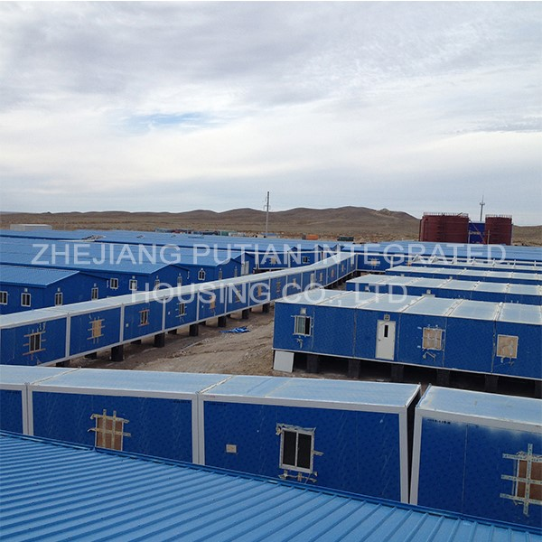 Application And Solution of Container House in Worker Camp