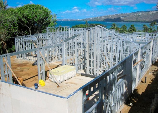 Prefabricated steel buildings have an excellent ability to resist typhoons