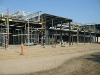 Steel Structure Retail Stores