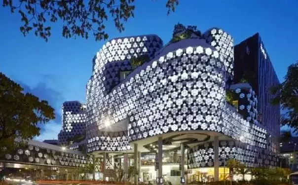 Iluma Comprehensive Commercial Building in Singapore