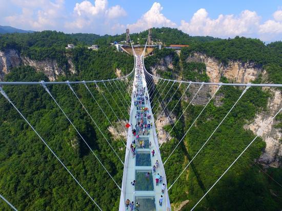 The Longest and Tallest Glass Bridge Worldwide