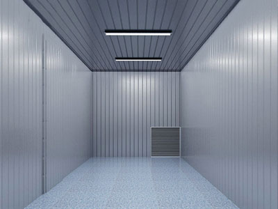 refrigerated storage container internal picture