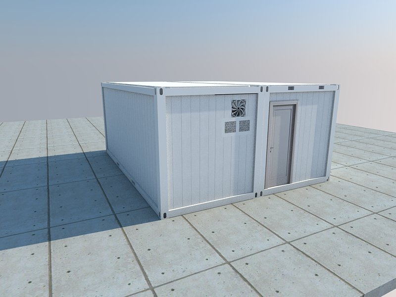 refrigerated storage container external picture