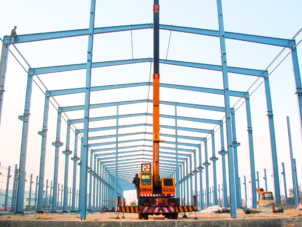 Steel Structure Warehouse in India